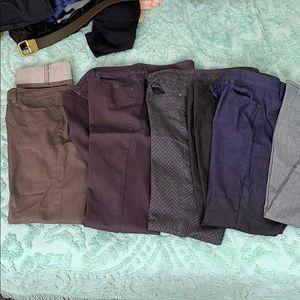 5 pairs Prana jeans size 14/32